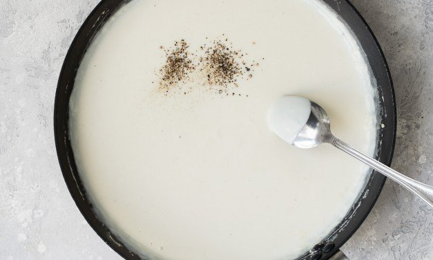 How To Make Easy BÉCHAMEL Sauce