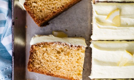 Easy Lemon Cake Squares