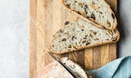 Homemade Mediterranean Olive Bread