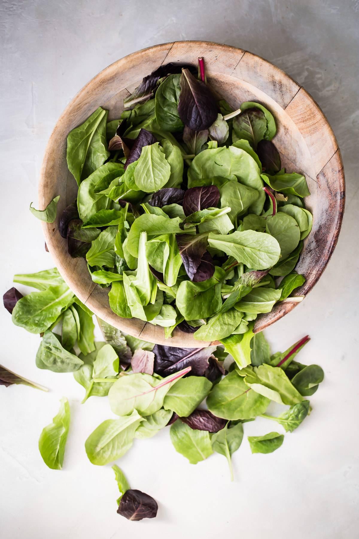 Spring mix salad greens