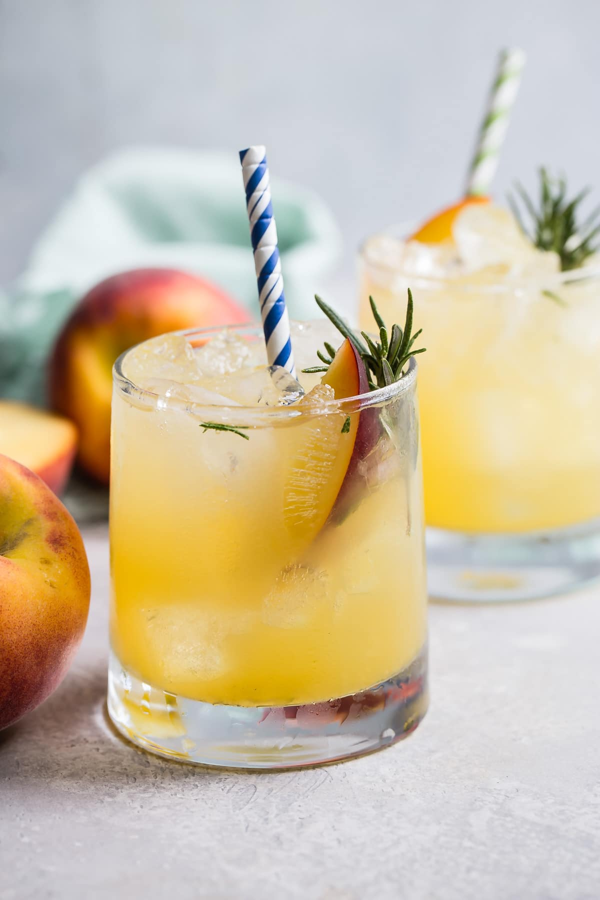Bourbon Peach Smash