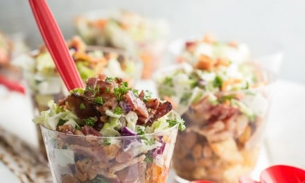 Summer BBQ Bacon Parfait Cups
