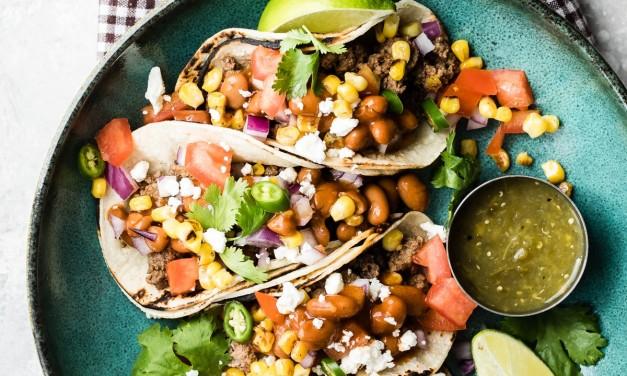 Ground Beef Southwestern Style Tacos