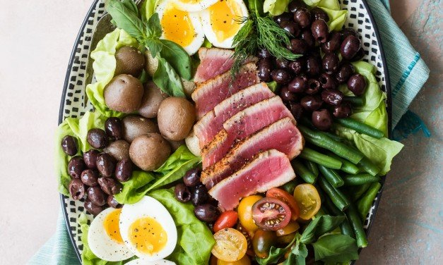 Easy Ahi Tuna Nicoise Salad