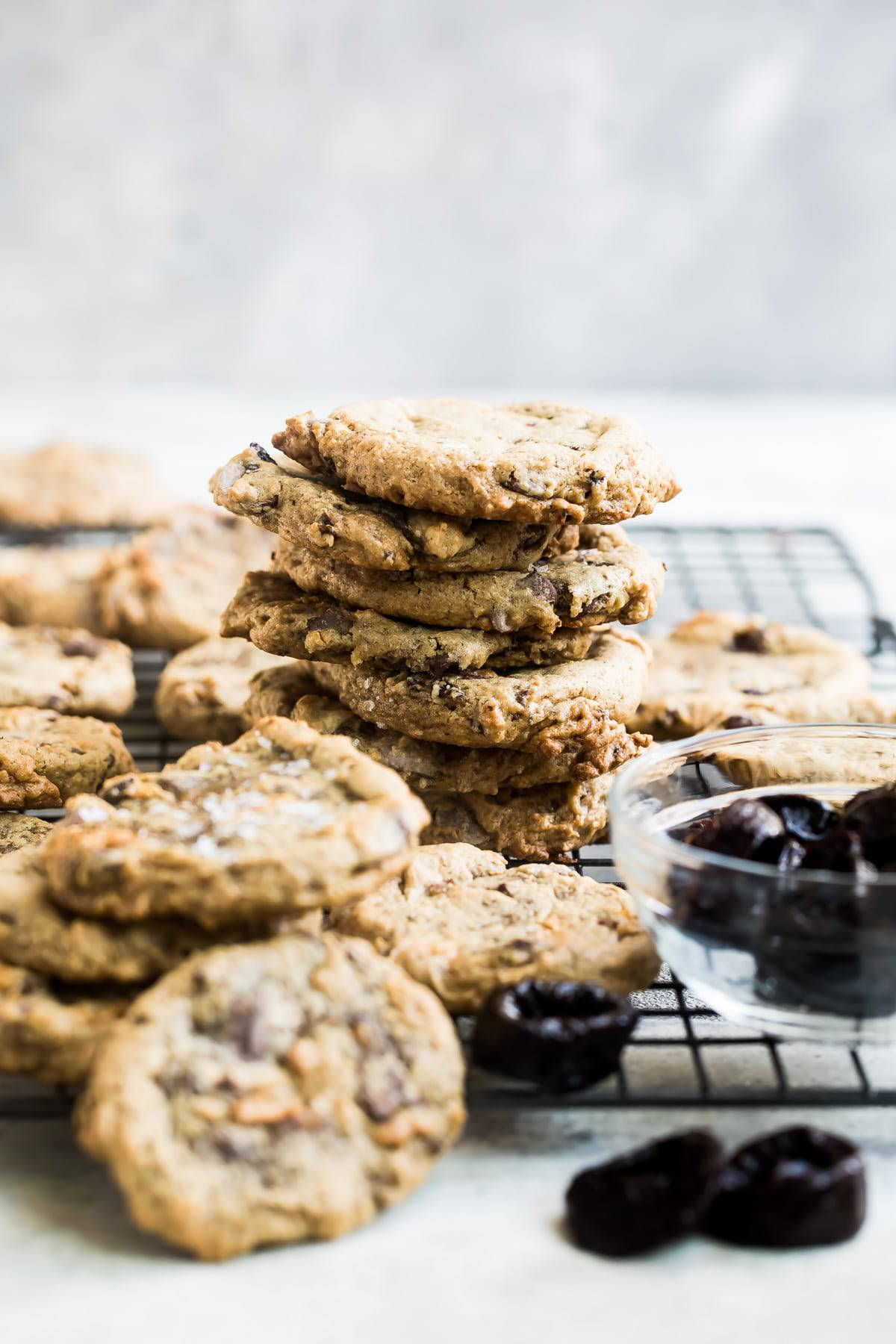 Chocolate Chip Cookies with California Prune Puree