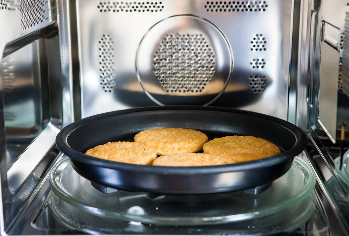 meatless chicken patties in the oven