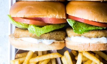 Easy Meatless Chik'n Sandwich