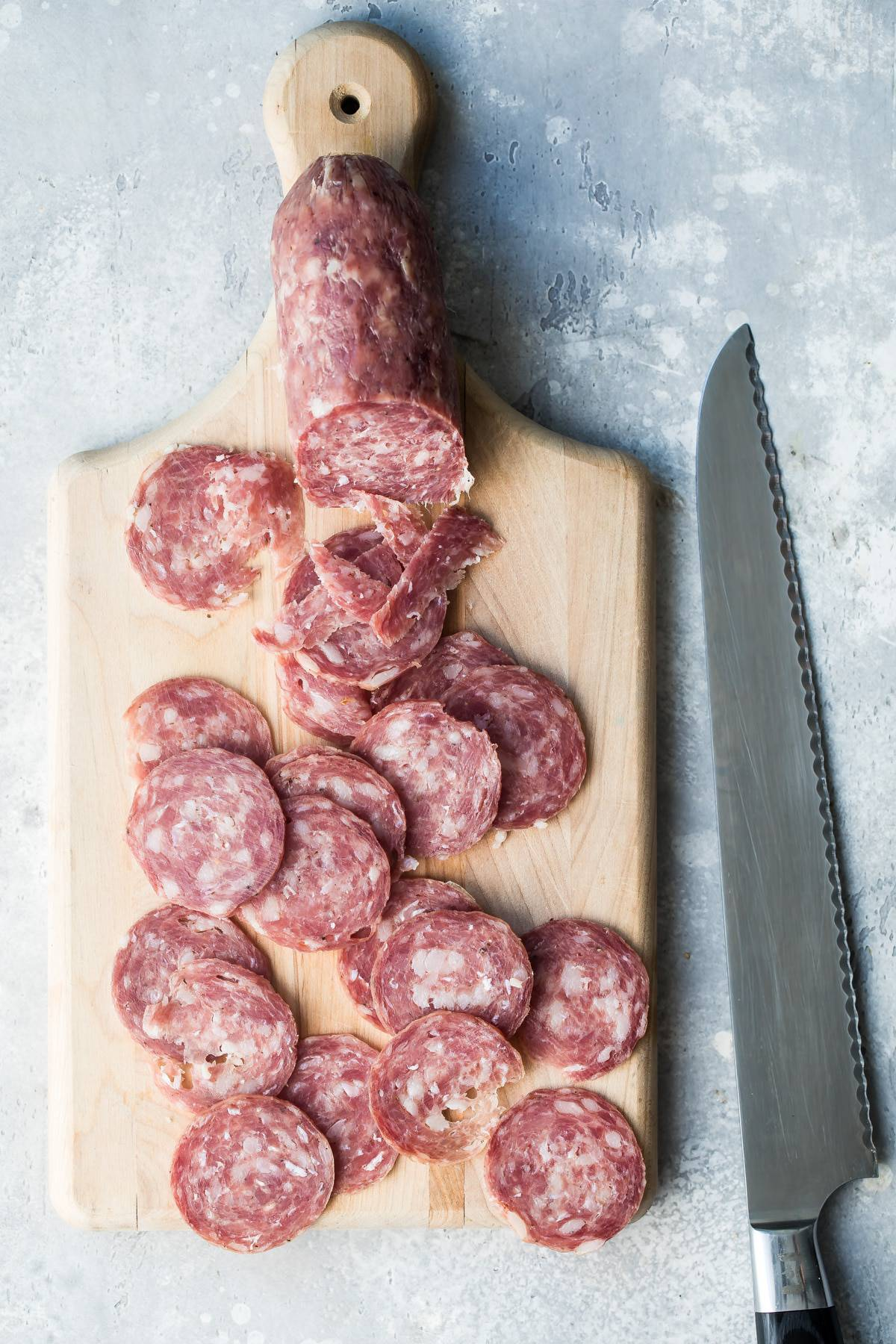 Uncured Soppressata is one of the best charcuterie meats