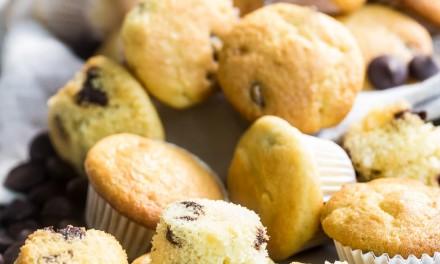 Simple Mini Chocolate Chip Muffins