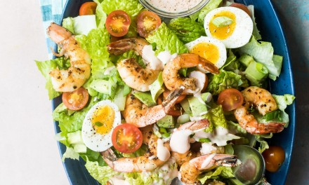 Classic Shrimp Louie Salad