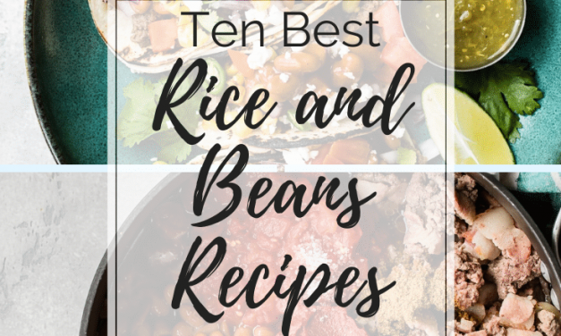 Ten Best Rice and Bean recipes