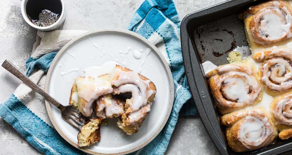 easy small pan cinnamon buns