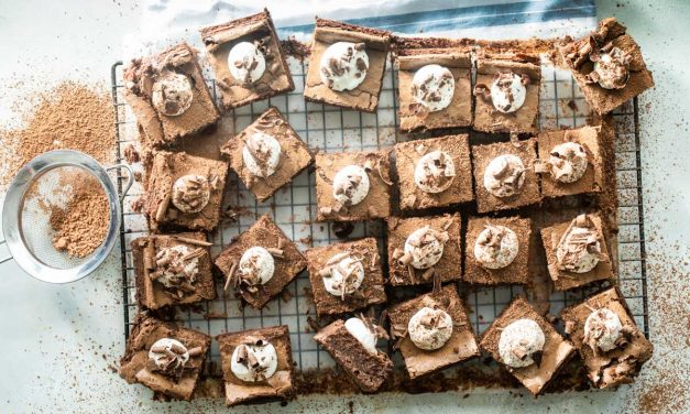 Mississippi mud pie bars