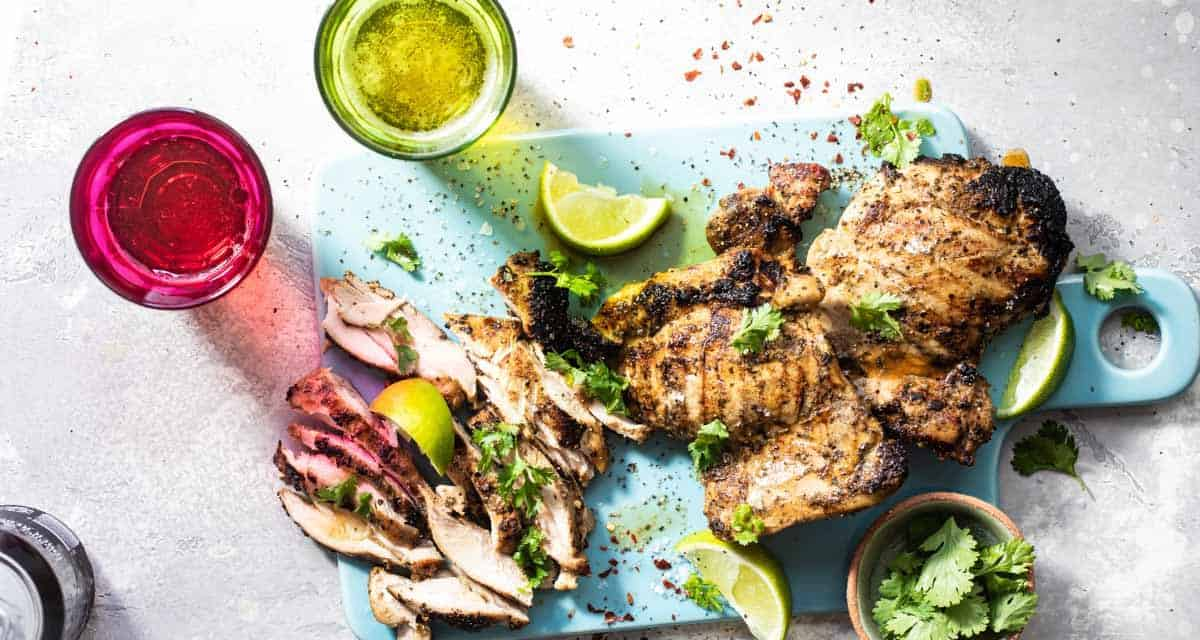 The best tequila lime chicken marinade