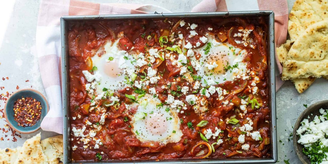 Easy Breakfast shakshuka recipe