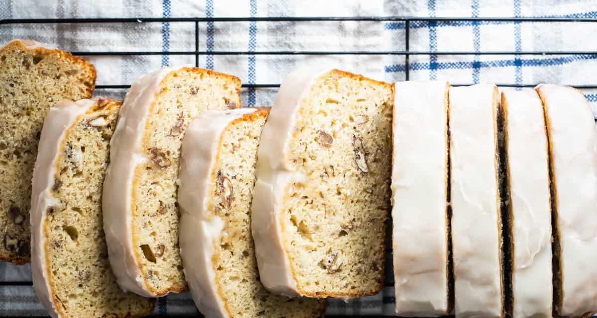 easy Maple banana loaf bread