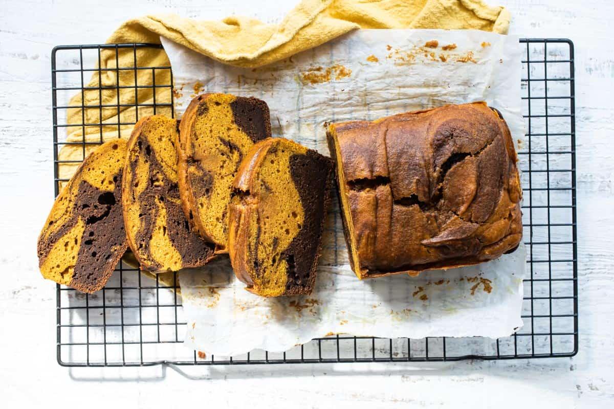 easy Chocolate pumpkin bread