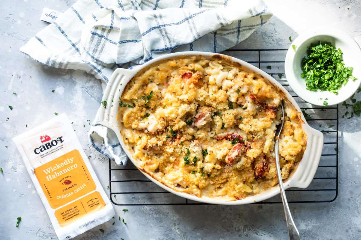 Spicy Lobster Mac and Cheese