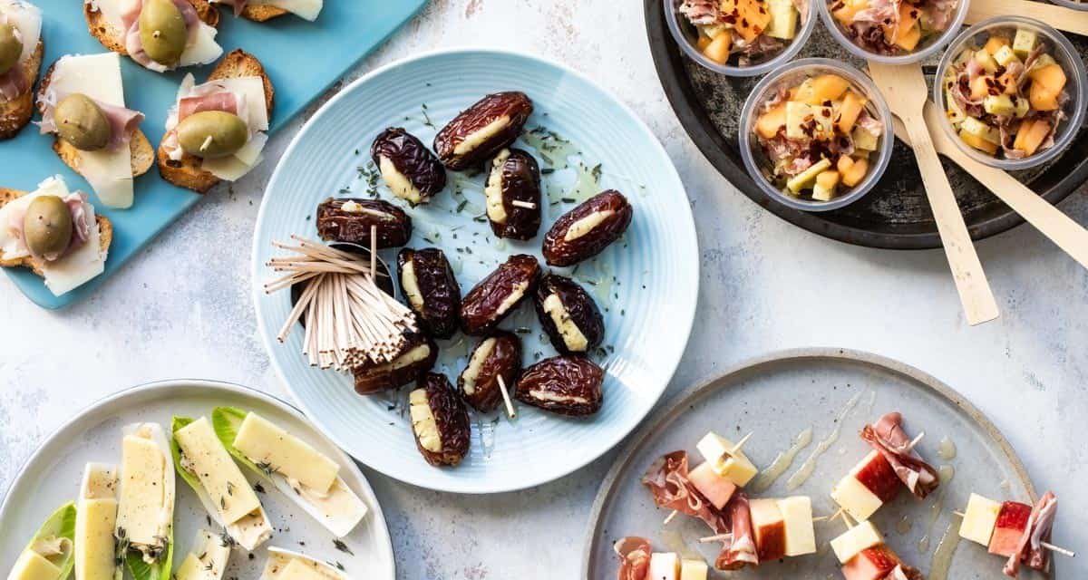 Five Easy Appetizers with Cheddar Cheese