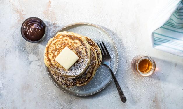 Buttermilk Pancakes from Scratch