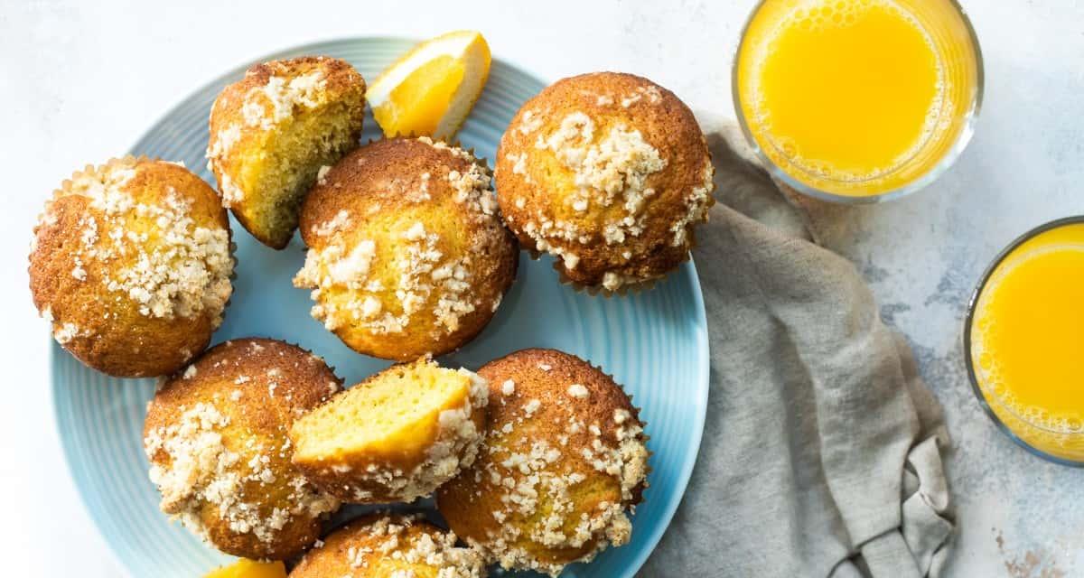 Orange Muffins with Florida OJ