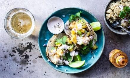 Simple Fish Taco Recipe- With Orange Chili Salsa