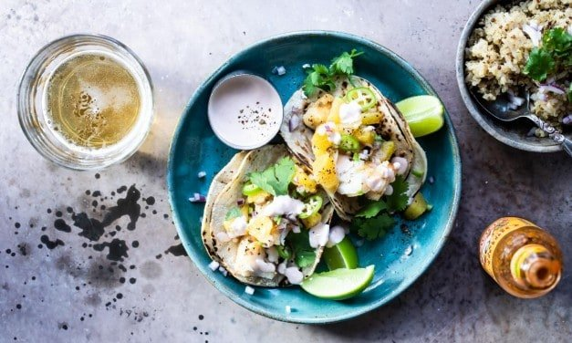 Simple Fish Taco Recipe- With Orange Chili Salsa
