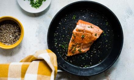 Simple Pan Fried Salmon