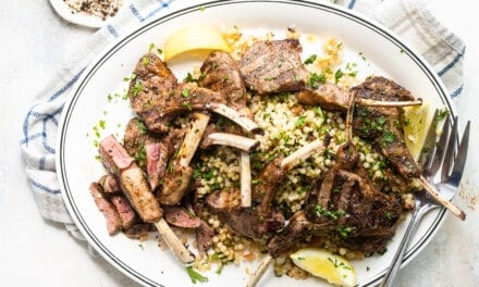 Moroccan Spiced New Zealand Grass-fed Lamb